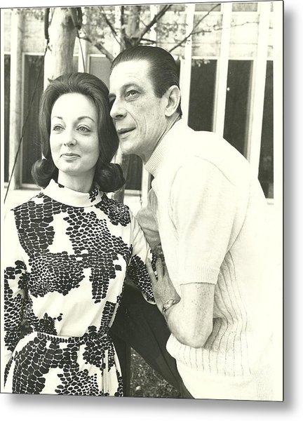 Norman Treigle And Linda Metal Print