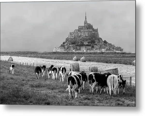 Normandy Metal Print