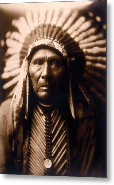 North American Indian Series 2 Metal Print