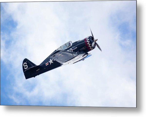 North American Na-50 Metal Print by Brian Knott Photography
