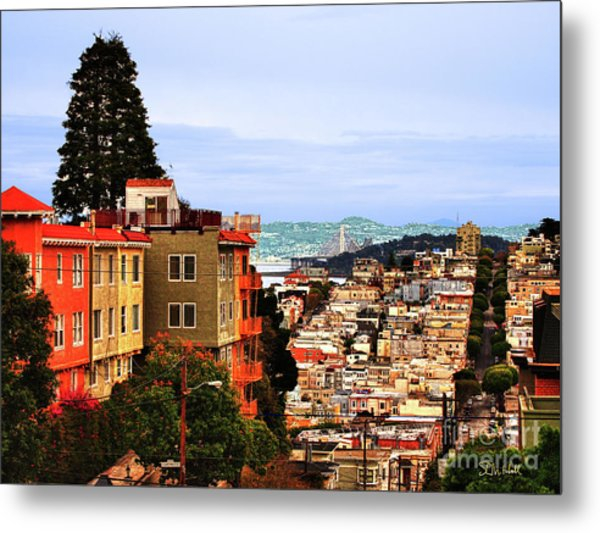 North Beach, San Francisco Metal Print