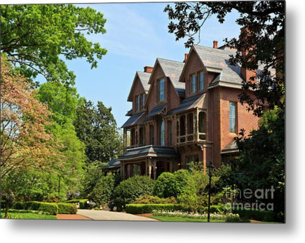 North Carolina Executive Mansion Metal Print
