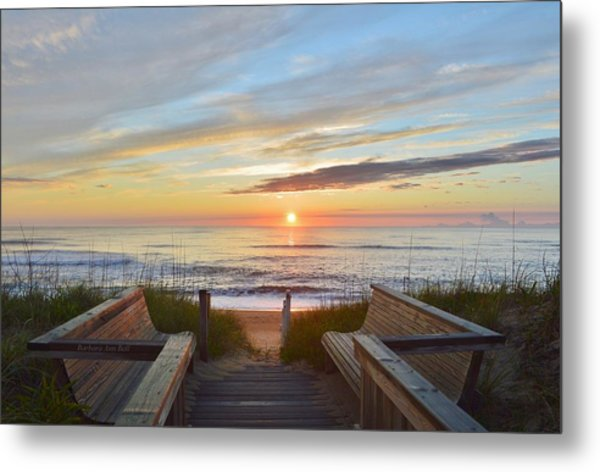 North Carolina Sunrise Metal Print