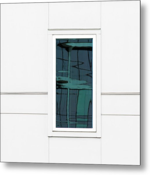 North Carolina Windows 2 Metal Print