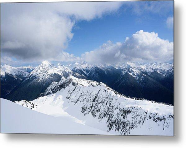 North Cascade Mountains Metal Print