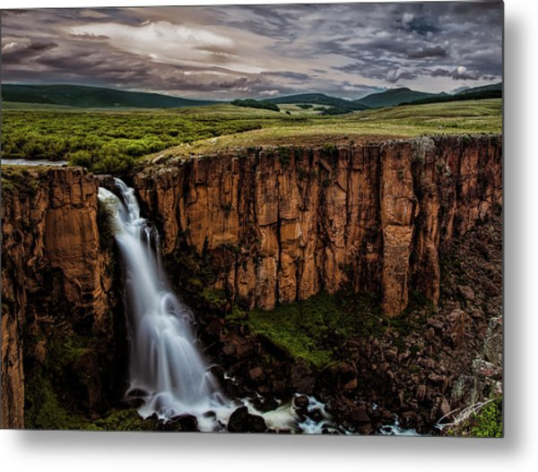 North Clear Creek Falls Metal Print