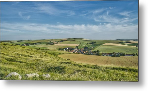 North French Scenery Metal Print