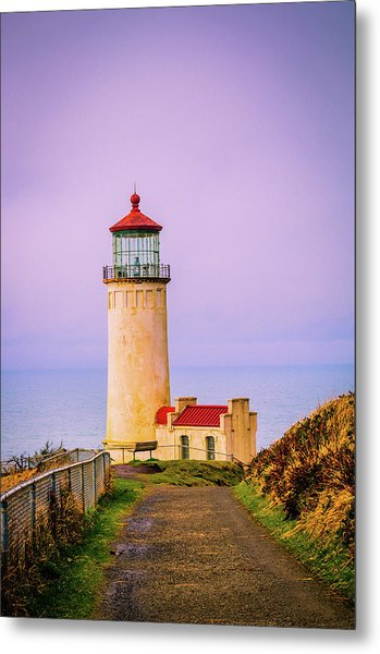 Metal Print featuring the photograph North Head Lighthouse by Bryan Carter