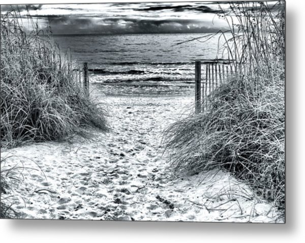North Myrtle Beach Entry Metal Print