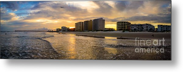 North Myrtle Beach Sunset Metal Print