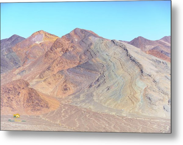 Metal Print featuring the photograph North Of Avawatz Mountain by Jim Thompson