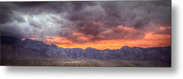 North Of Potosi Metal Print