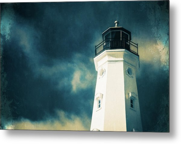 North Point Lighthouse Metal Print