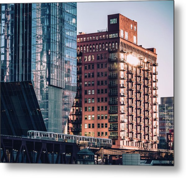 North Riverside Metal Print