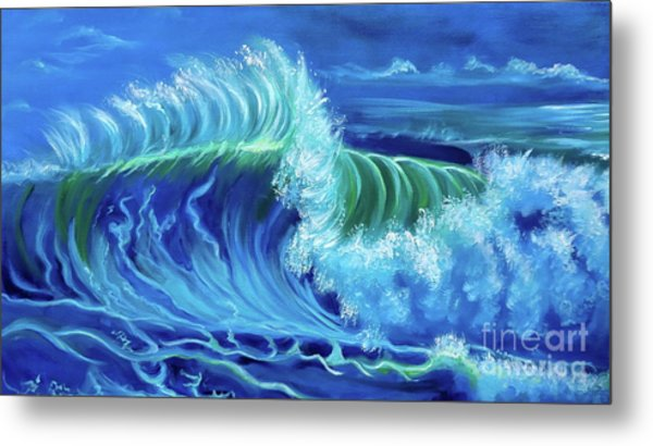 North Shore Wave Hawaii Jenny Lee Discount Metal Print