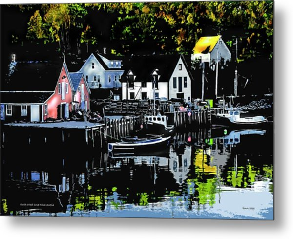 North West Cove Ns. Metal Print