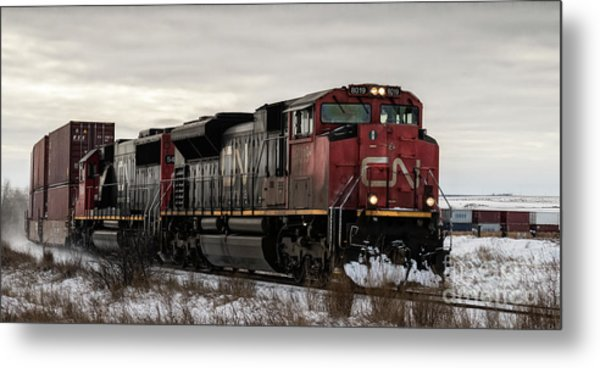 Northbound Double Stack Metal Print