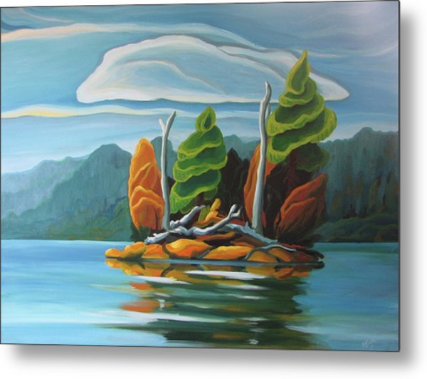 Northern Island Metal Print