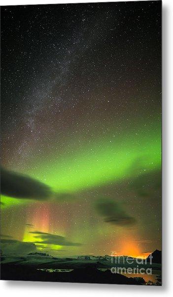 Northern Lights 8 Metal Print