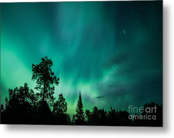 Northern Lights Tonight Metal Print