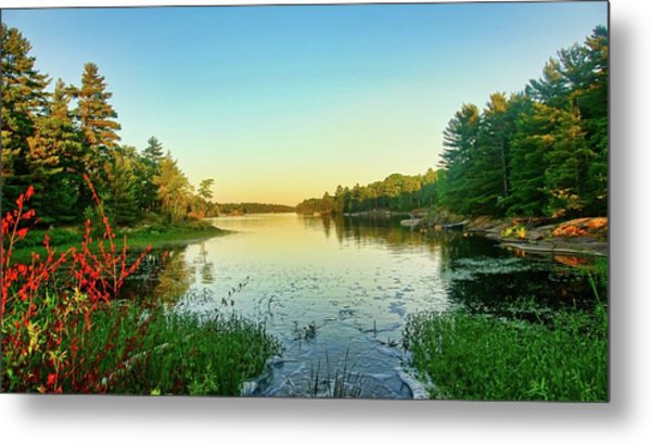 Northern Ontario Lake Metal Print