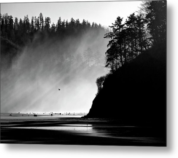 Northern Oregon Coast Metal Print