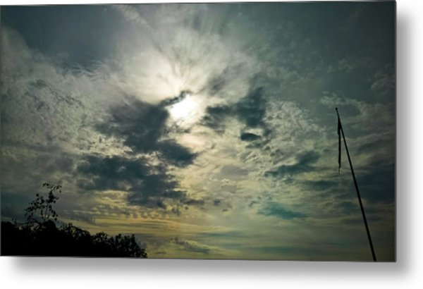 Northern Sky Metal Print
