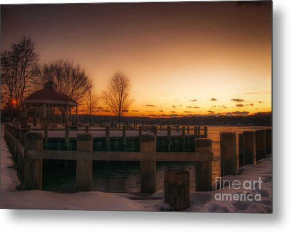 Northport Sunset Metal Print