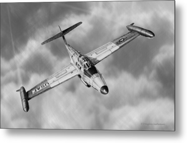 Northrop F-89 Scorpion Metal Print