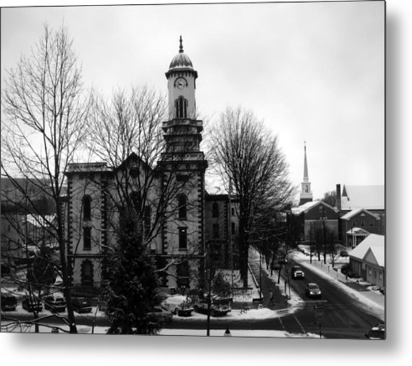 Northumberland County Courthouse Sunbury Pennsylvania  Metal Print