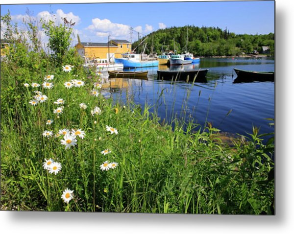 Northwest Harbour, Nova Scotia Metal Print
