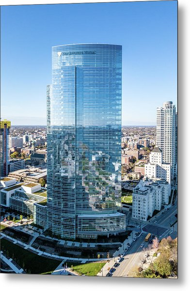 Northwestern Mutual Tower Metal Print