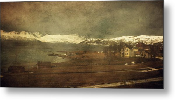 Norwegian Coast Metal Print
