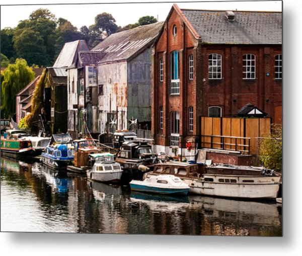 Norwich River Metal Print