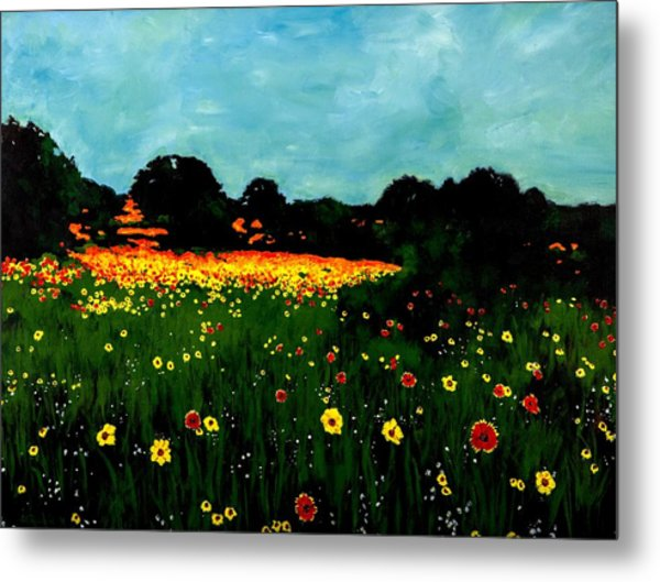 Not Another Bluebonnet Painting Metal Print