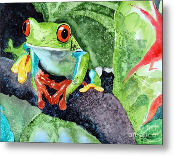 Not Kermit Metal Print