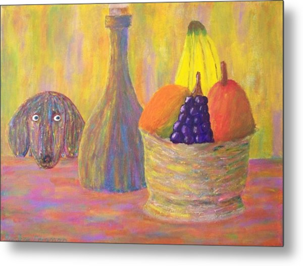 Not So Still Life Number One Metal Print by Ricky Gagnon