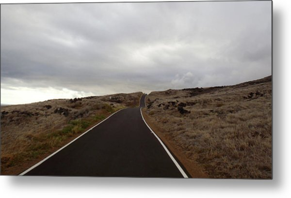 Not The Destination  Metal Print by JAMART Photography