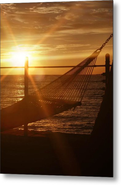 Nothing Gold Stays Metal Print by JAMART Photography