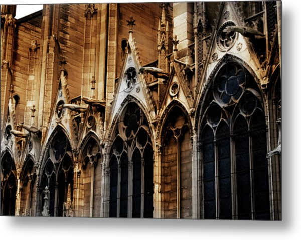 Notre Dame Metal Print