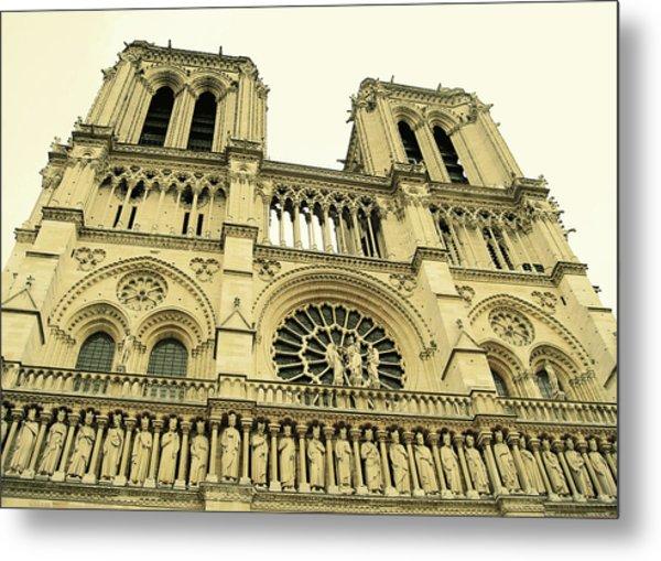 Notre Dame De Paris Metal Print by JAMART Photography