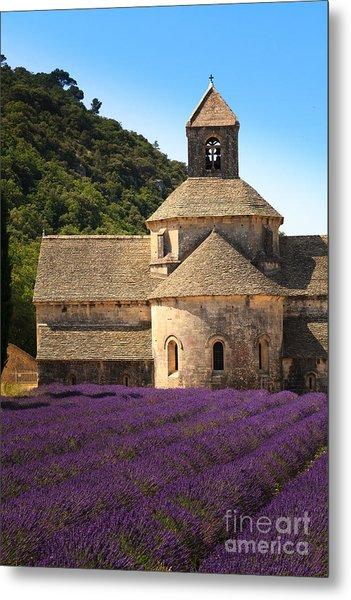 Notre-dame De Senanque  Abbey Provence France Metal Print