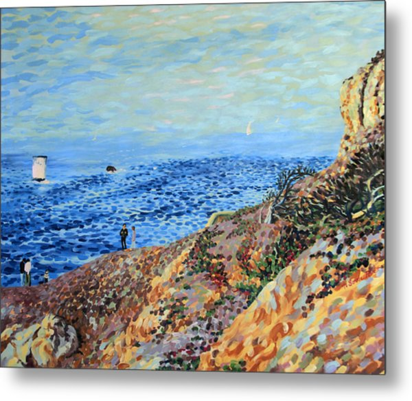 November Day At Point Lobos San Francisco Metal Print