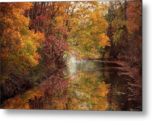 Metal Print featuring the photograph November Reflections by Jessica Jenney