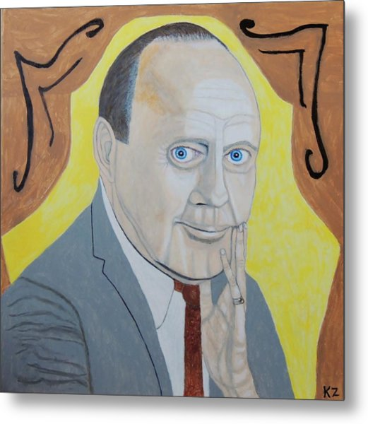 Now Cut That Out. Jack Benny. Metal Print
