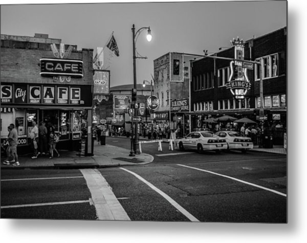 Now Entering Beale  Metal Print