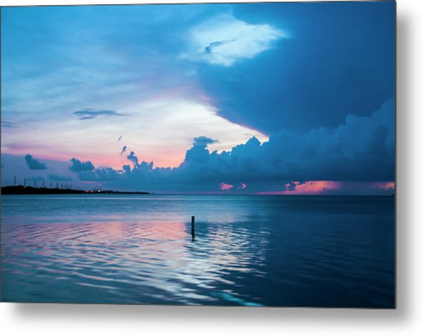 Now The Day Is Over Metal Print