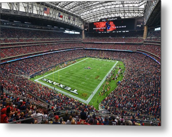 Nrg Stadium - Houston Texans  Metal Print