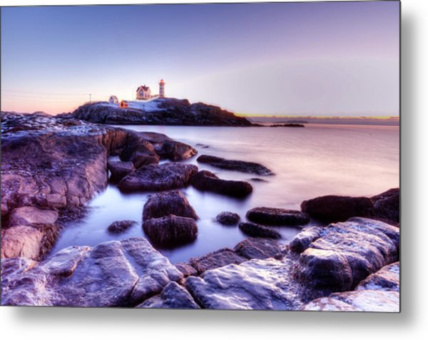 Nubble In The Morning Metal Print