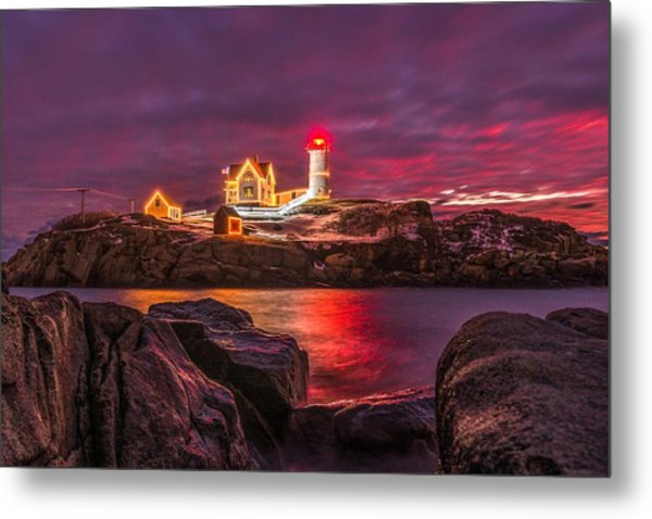 Nubble-rific Metal Print
